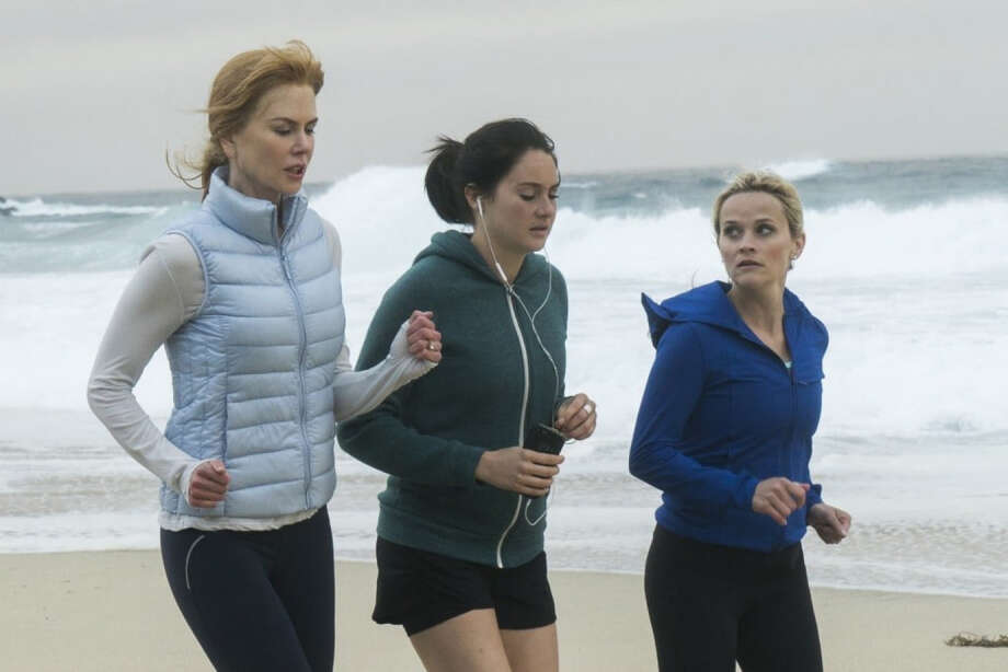 "Nicole Kidman, Shailene Woodley and Reese Witherspoon in HBO's ""Big Little Lies."" Photo: Hilary Bronwyn Gayle - HBO. / The Washington Post"