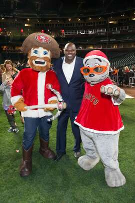 Adonal Foyle attends Holiday Heroes 2017 on December 5th 2017 at AT&T Park in San Francisco, CA.