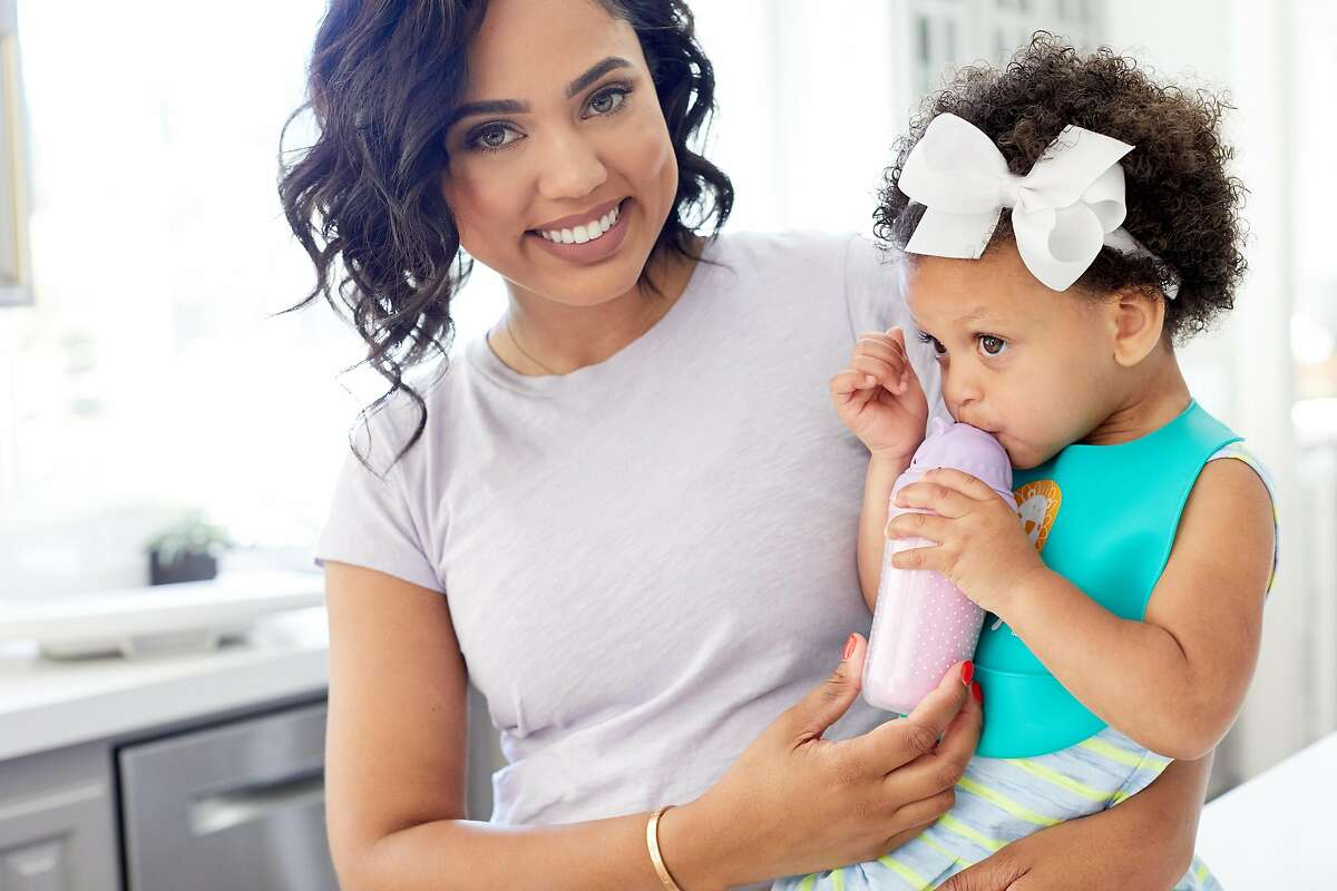 Ayesha Curry, wife of Golden State Warriors'� star Steph Curry, has a new line of baby tablewear at Target. She and Steph have two daughters, ages 4 and 1.