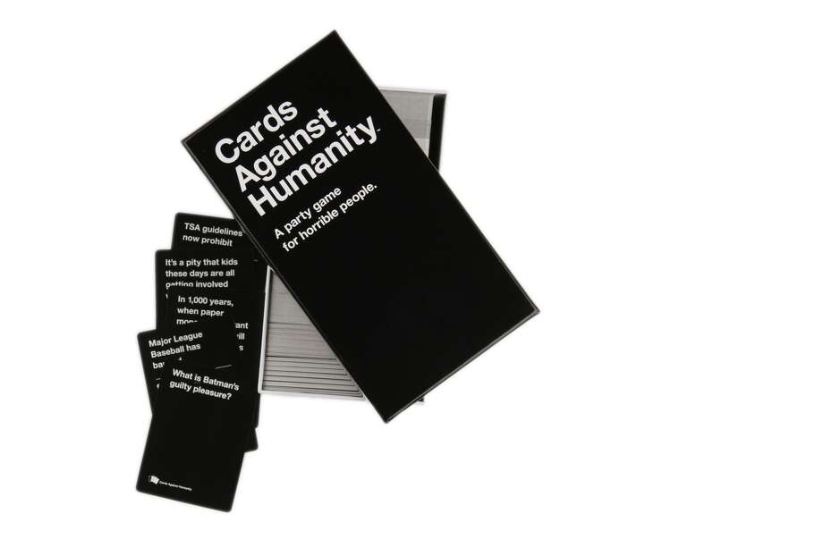 Cards Against Humanity card game shot in The Washington Post via Getty Images studio on December 10, 2013. Photo: (Photo By Anne Farrar/The Washington Post Via Getty Images)
