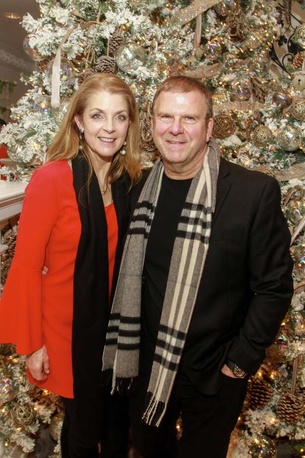 Paige and Tilman Fertitta  Photo: Gary Fountain, For The Chronicle/Gary Fountain / Copyright 2017 Gary Fountain
