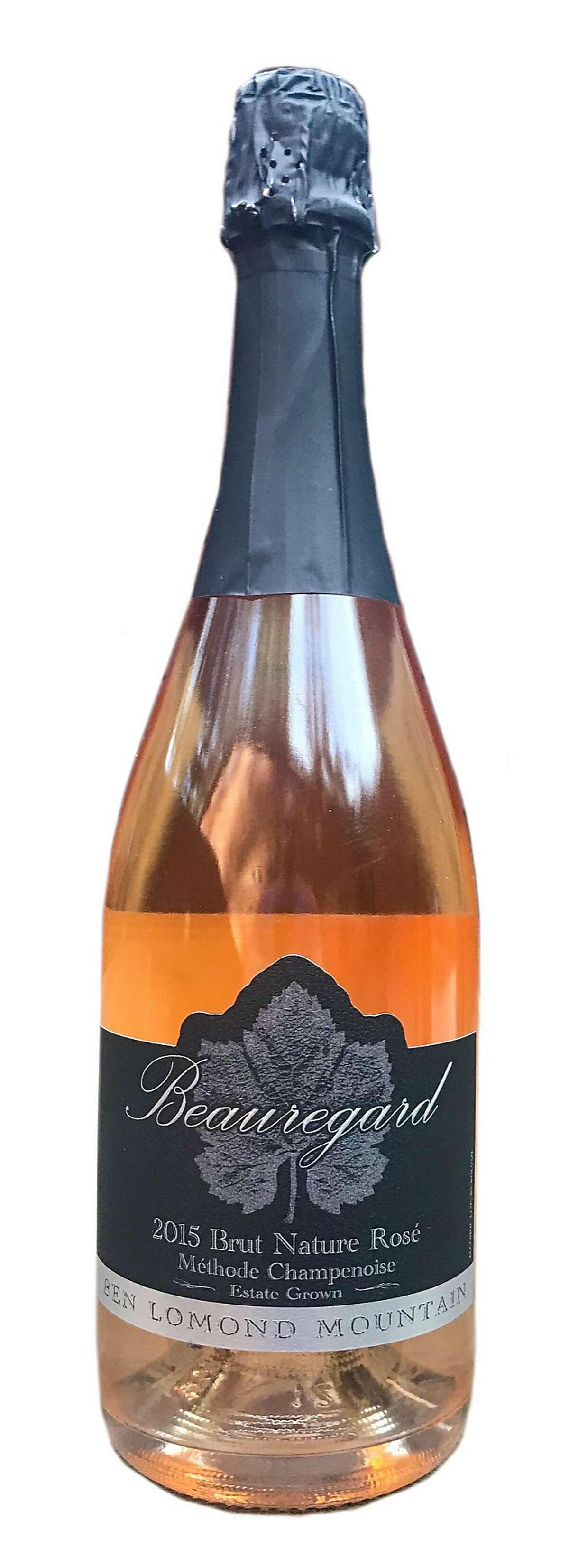 Beauregard Vineyards Sparkling Ros� Coast Grade Vineyard 2015 ($65)