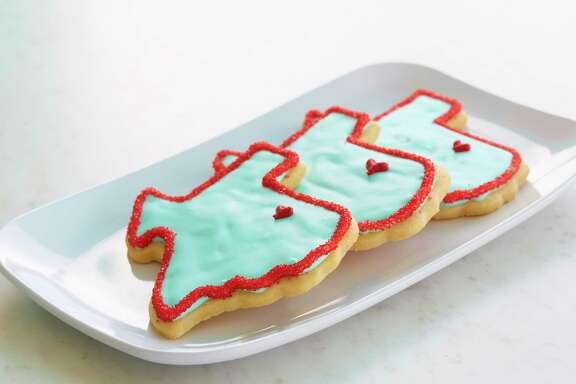 Texas cookies at SusieCakes