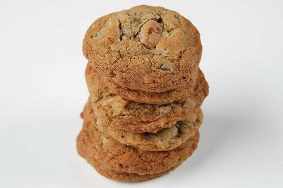 Chocolate Cardamom Pecan Cookies