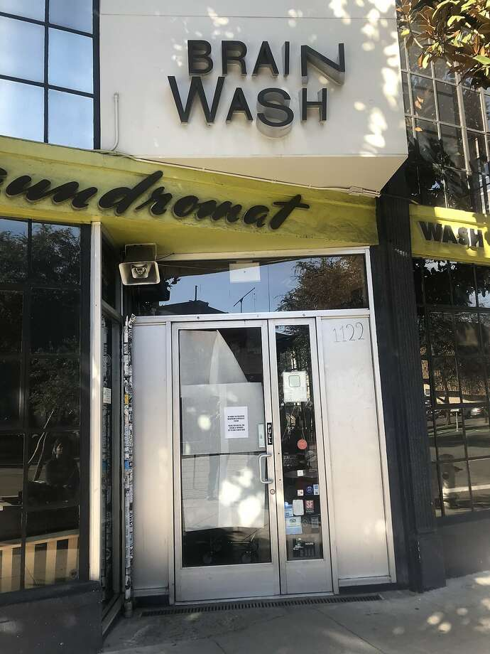 Brainwash closes at 1122 Folsom St. Photo: Justin Phillips