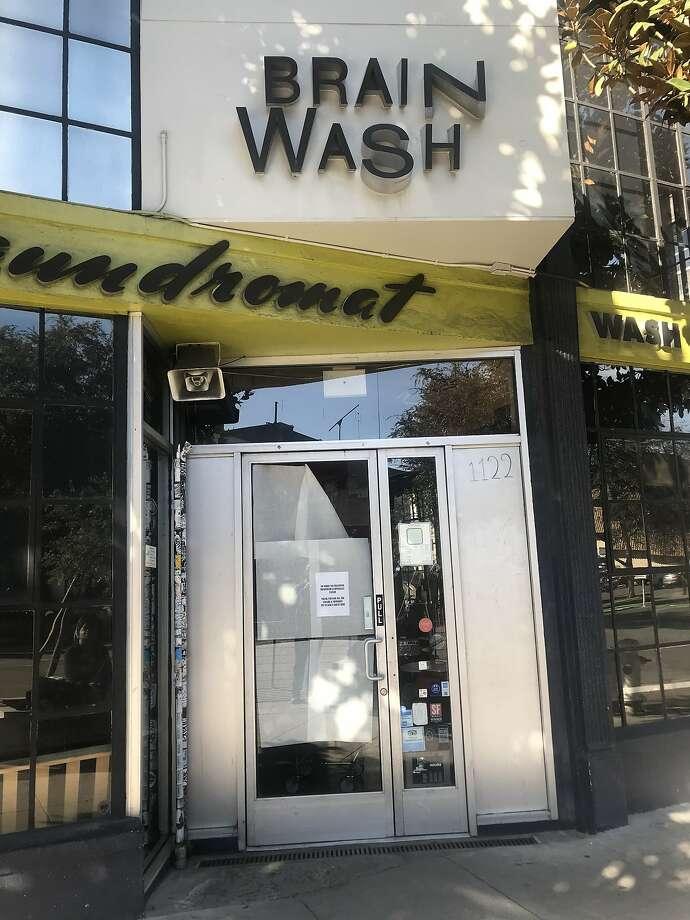 Brainwash closes at 1122 Folsom St. Photo: Justin Phillips