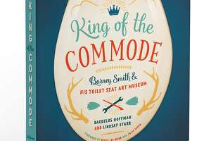 Cattywampus, an Austin-based micropublisher, is lending a hand by working to create King of the Commode: Barney Smith and His Toilet Seat Art Museum, a book which documents all of his works with 350 color photographs and illustrations.