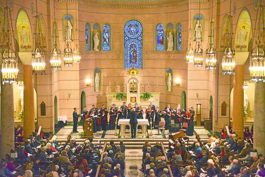 The Villa de Matel makes the perfect venue for the Houston Chamber Choir's Christmas concert. / Internal