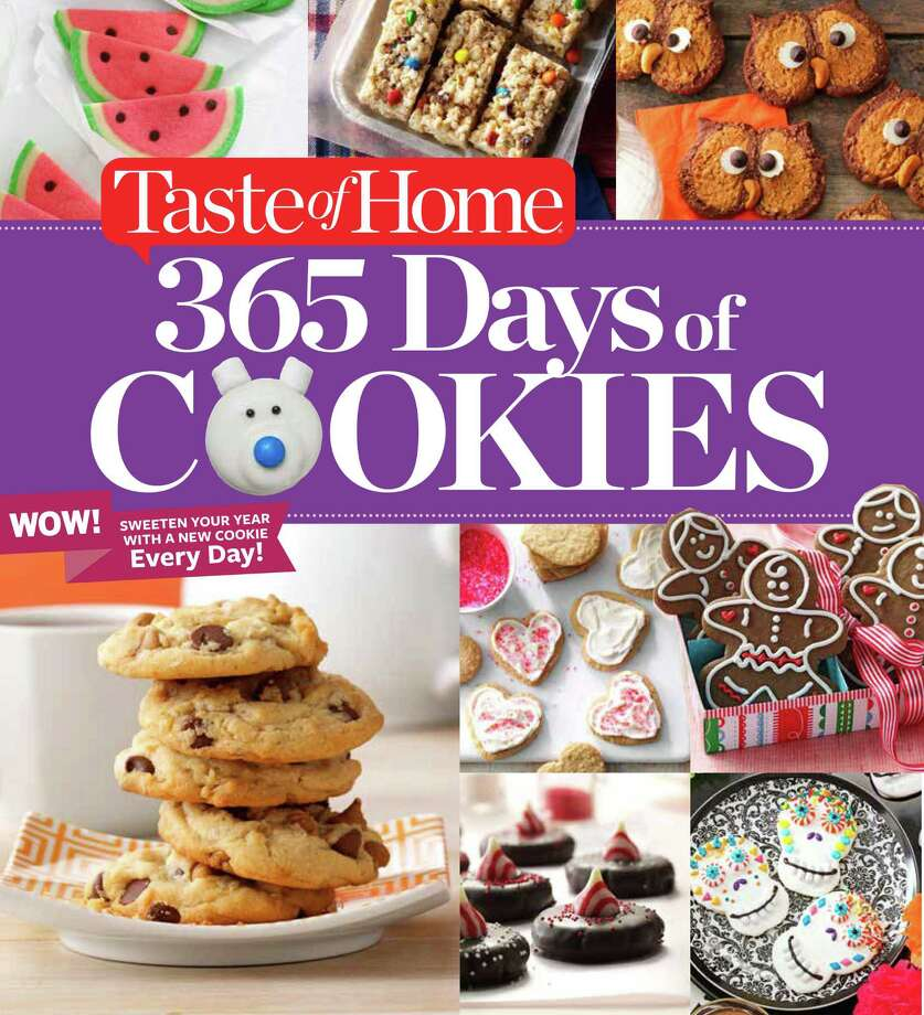 """Cover: """"Taste of Home 365 Days of Cookies"""" from Taste of Home. Photo: Taste Of Home"""