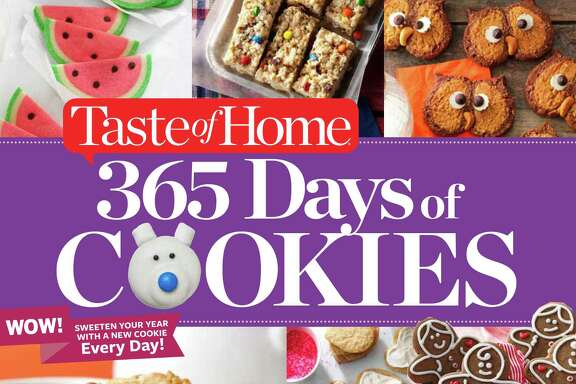 "Cover: ""Taste of Home 365 Days of Cookies"" from Taste of Home."