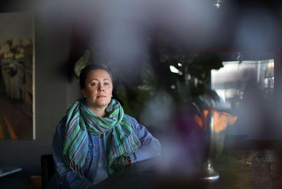 Yuliya Pavlova Thompson at 1601 Bar & Kitchen in S.F. Photo: Scott Strazzante, The Chronicle