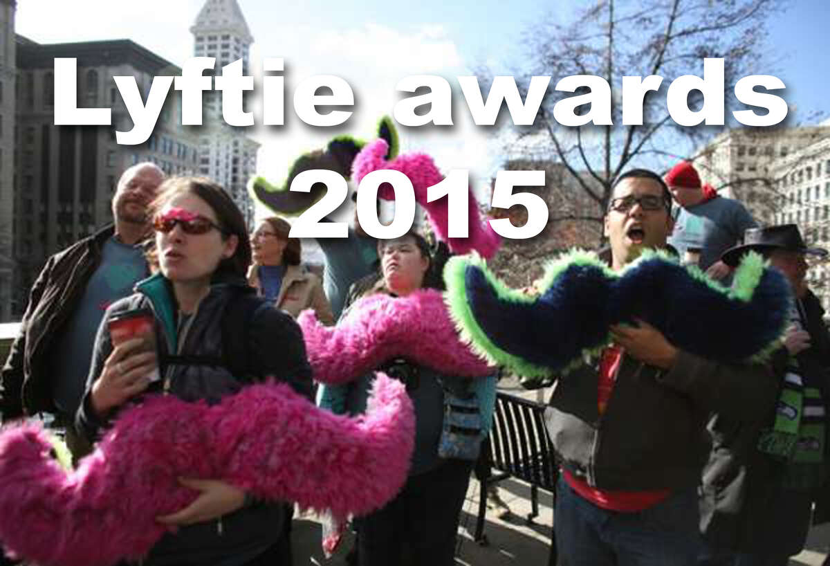 Click through to see the Seattle Lyftie awards from 2015.