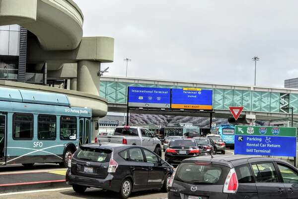 Traffic snarls at SFO roadways during holidays
