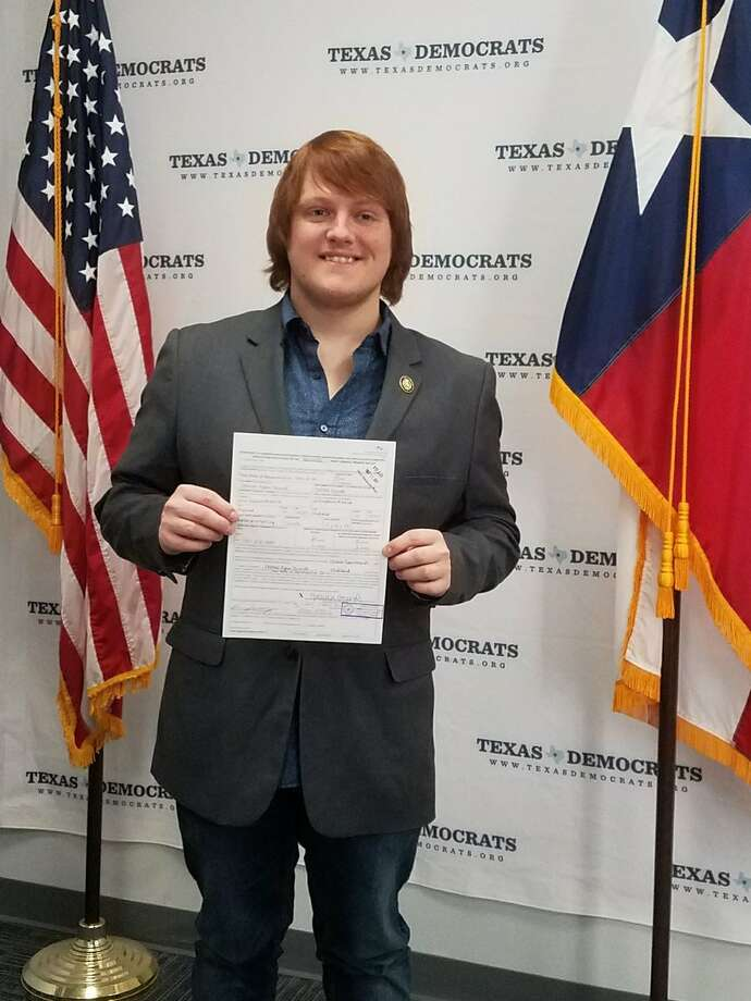 Spencer Bounds, 24, is taking the very large step to challenge former Texas House Speaker Tom Craddick for the District 82 seat in the state House of Representatives. Photo: Twitter/ Spencer Bounds