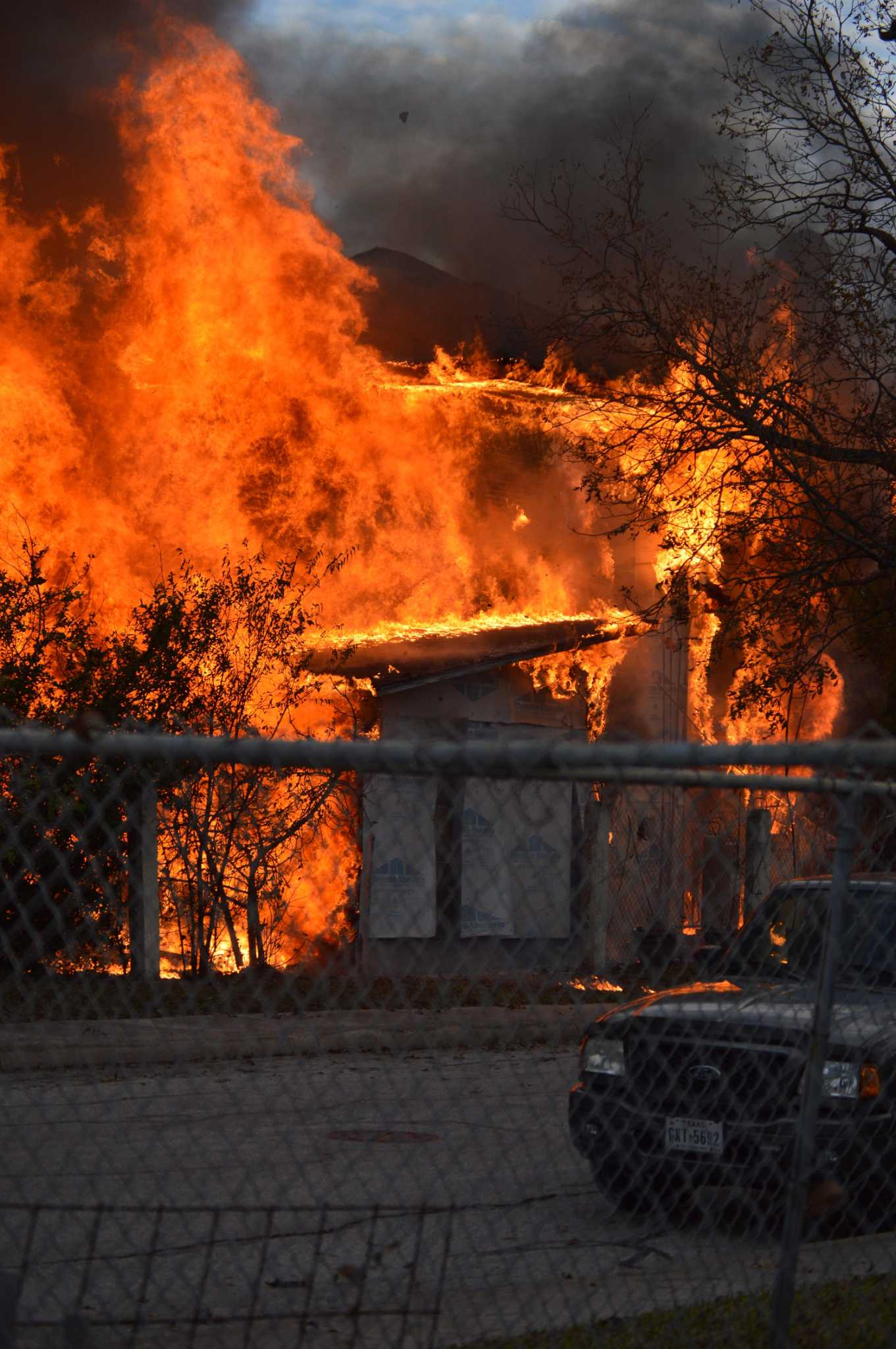 Fire rips through West Side home