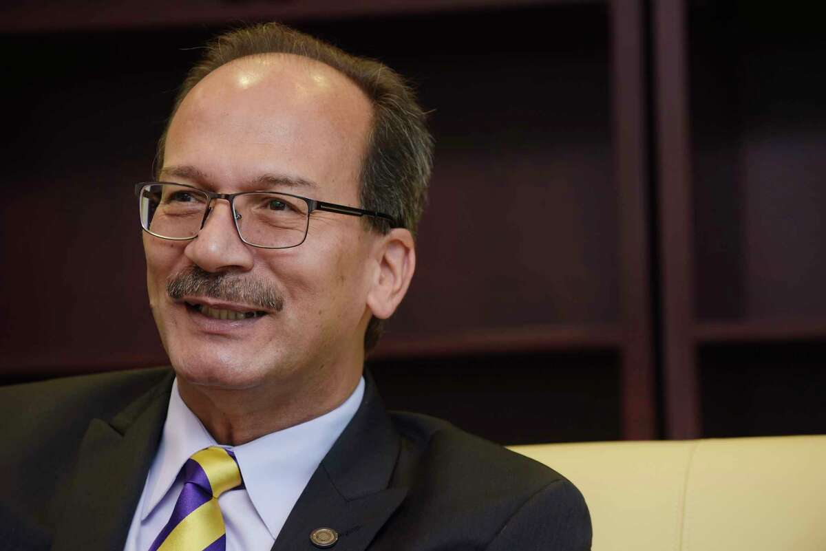 He's been on the job since last year, but Havidán Rodríguez will be officially sworn in as the 20th president of the State University at Albany on Friday afternoon at the Performing Arts Center University on the Uptown Campus. Get details.