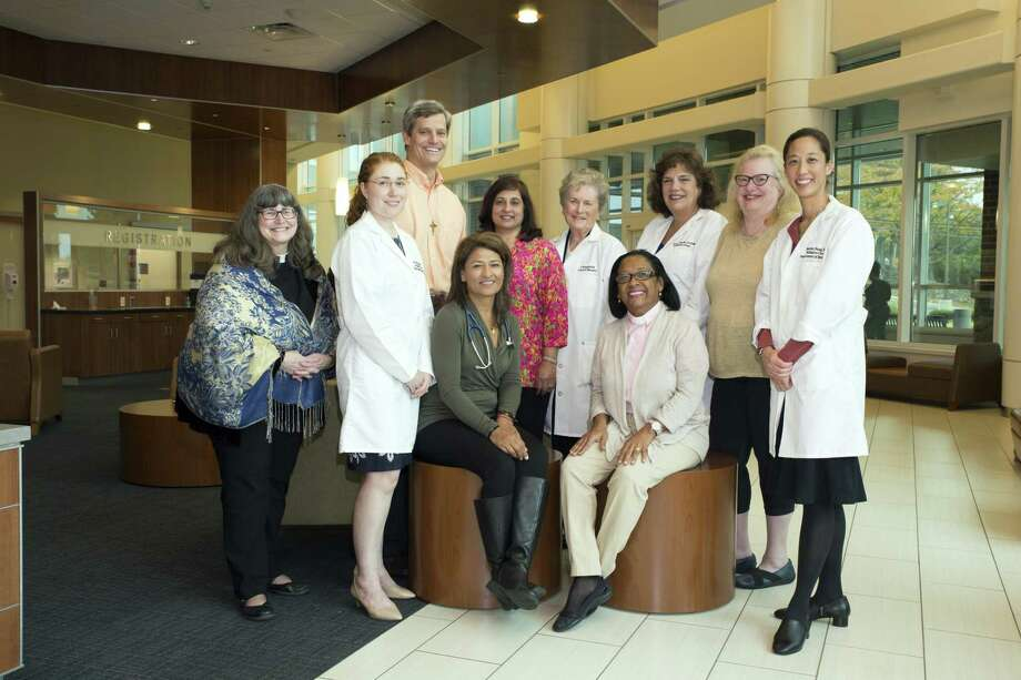 The Palliative Care Team at Norwalk Hospital led by Dr. Damanjeet Chaubey. Photo: Western CT Health Network / Hearst Connecticut Media / The News-Times Contributed
