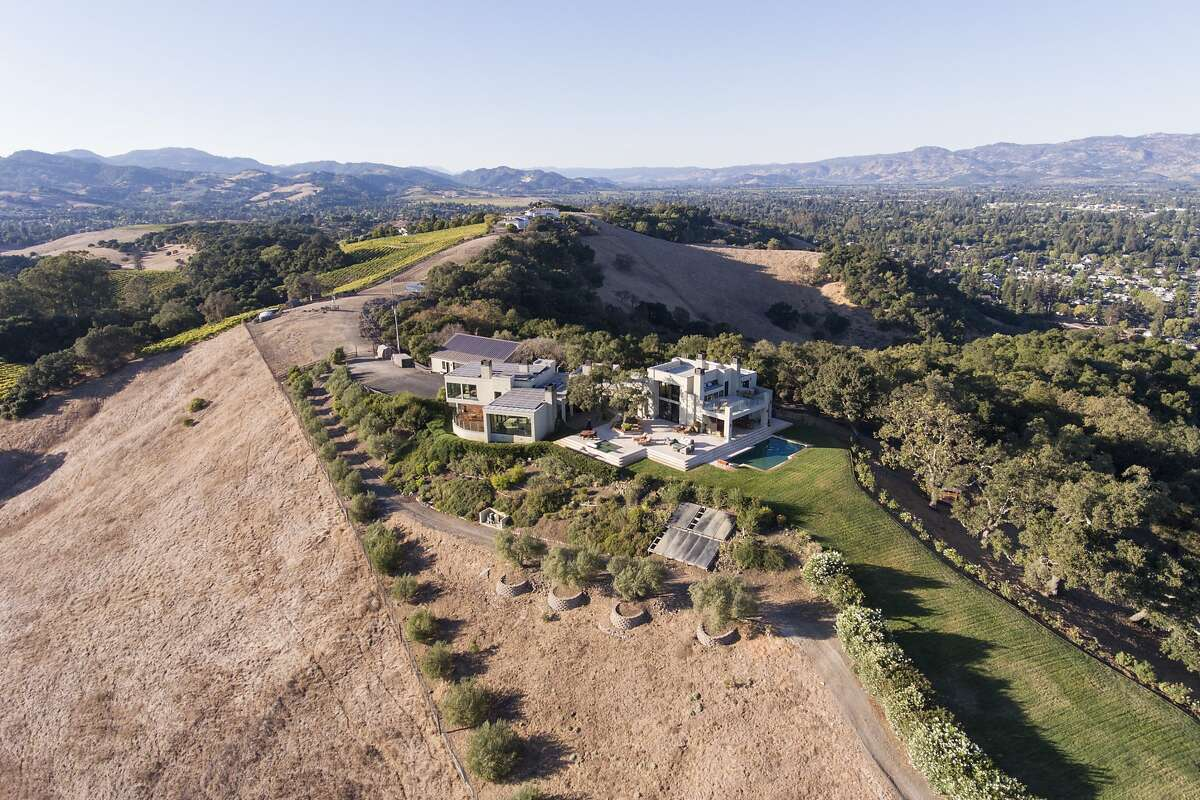 The Carneros home sits on nearly 35 acres.�