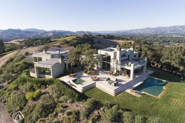 3100 Old Sonoma Road in Carneros is a six-bedroom home set on a 34.85-acre estate.�