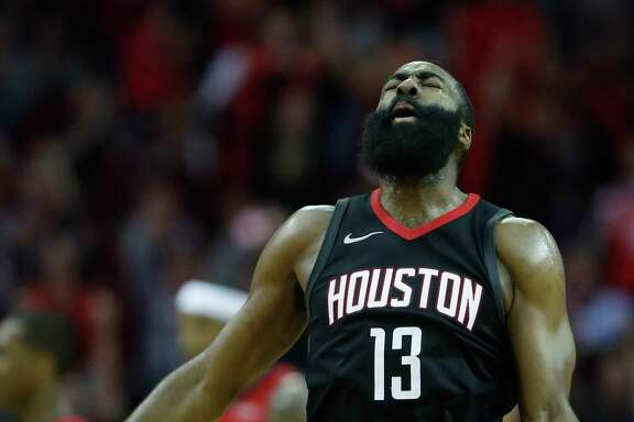 James Harden finished with 26 points and 17 assists in helping rally the Rockets to their 10th consecutive victory Monday night at Toyota Center.