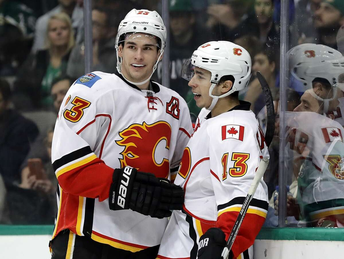 Calgary Flames Last season's attendance/Current rank: 18,727 (10th) / 8th Current arena: Scotiabank Saddledome (capacity: 19,289) Playoff appearances in last decade: 4 Franchise cornerstones: Sean Monahan and Johnny Gaudreau The Flames tied up over $85 million in the dynamic duo last year and for good reason. Monahan has emerged as a No. 1 center and Johnny Gaudreau, a Lady Byng Award winner, has averaged nearly a point a game over his career.