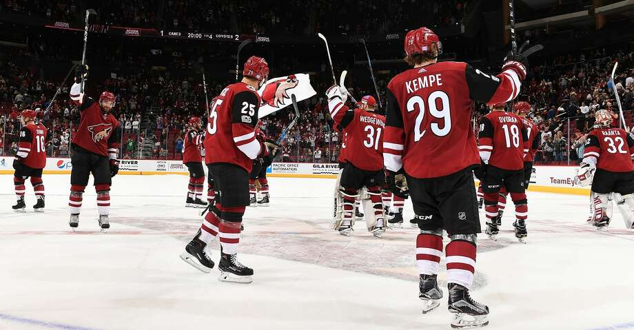 The Coyotes are a team that could possibly move to Houston if the NHL chooses to relocate a current team.Browse through the slideshow to see a breakdown of the teams that could make a move. Photo: Norm Hall/NHLI Via Getty Images