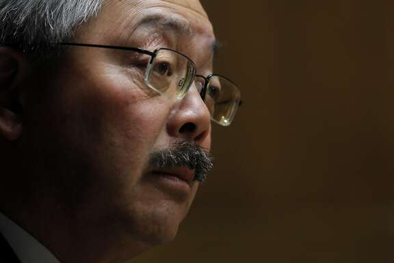 San Francisco Mayor Ed Lee met with the Chronicle editorial board in the newspaper's offices in San Francisco, Calif., on Thursday, October 4, 2012.