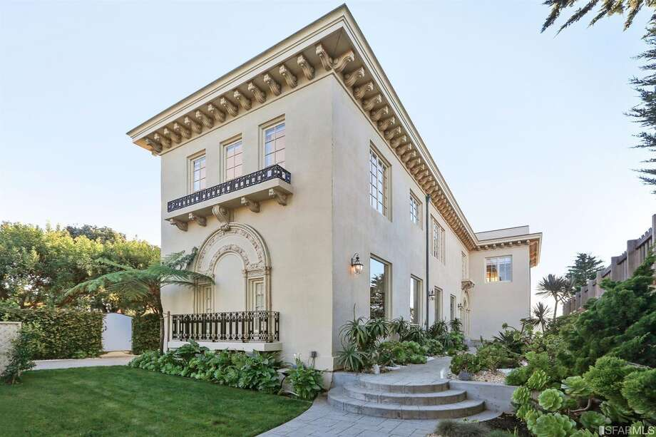 The Neo-Classical home was built in 1922. Photo: MLS