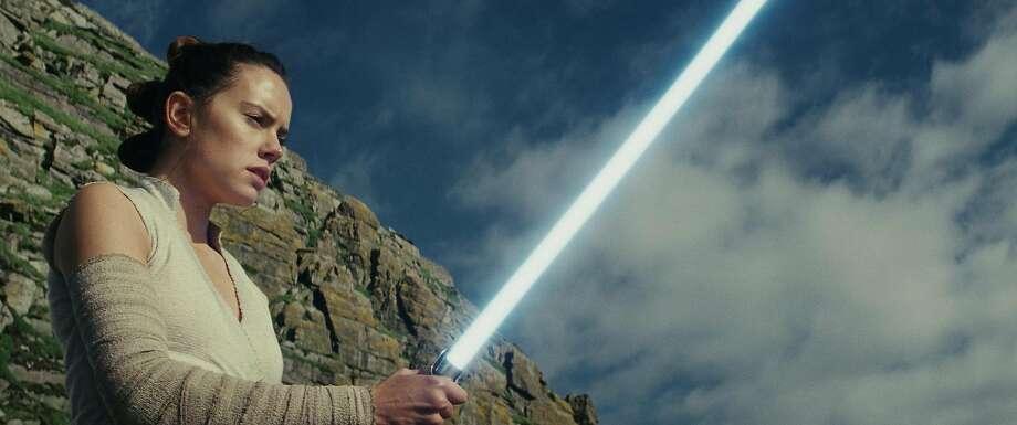 Star Wars: The Last Jedi  Rey (Daisy Ridley) Photo: Lucasfilm Ltd.