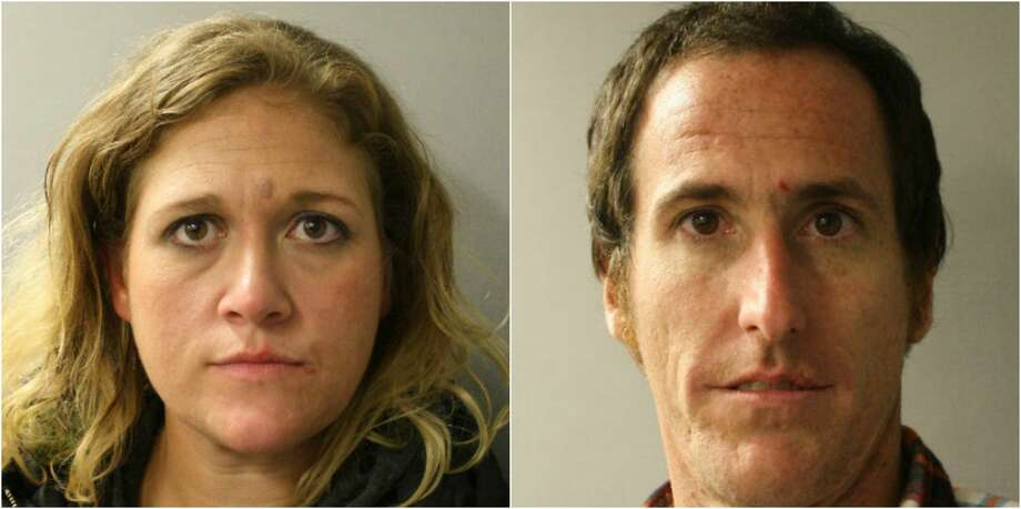 A couple was arrested after allegedly stealing packages from the front of a Houston home Dec 9. Photo: Harris County Constables Precinct 4