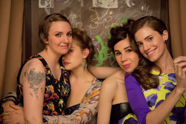 Girls  Lena Dunham's controversial dramedy about a group of Millennial friends ended after 6 seasons. (HBO)