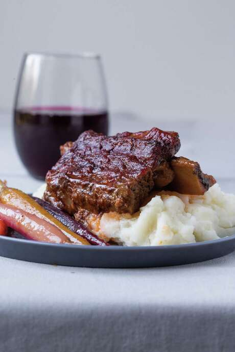 "Apple BBQ spare ribs are featured in author Miriam Pascal's book ""Real Life Kosher Cooking."" Photo: Courtesy Miriam Pascal"