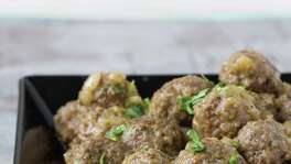 "Lamb meatballs in onion sauce is one of the featured recipes in author Miriam Pascal's book """"Real Life Kosher Cooking."""""