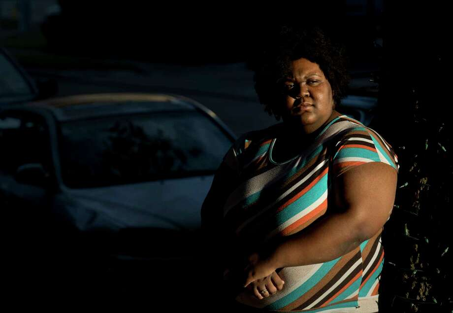 Rachel Green lives near Briarbend Park, an area that would be devastated if Addicks and Barker dams failed. She wasn't aware the structures are in the Army Corps' highest-risk category. Photo: Jon Shapley / © 2017 Houston Chronicle