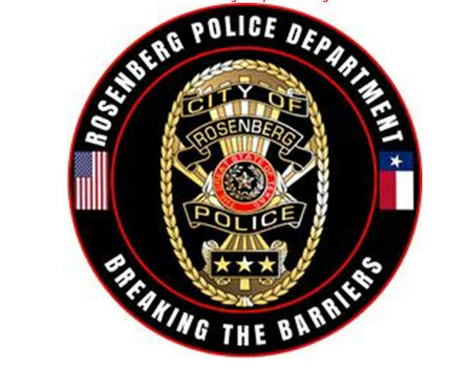 Rosenberg Police Department Photo: Rosenberg Police Department
