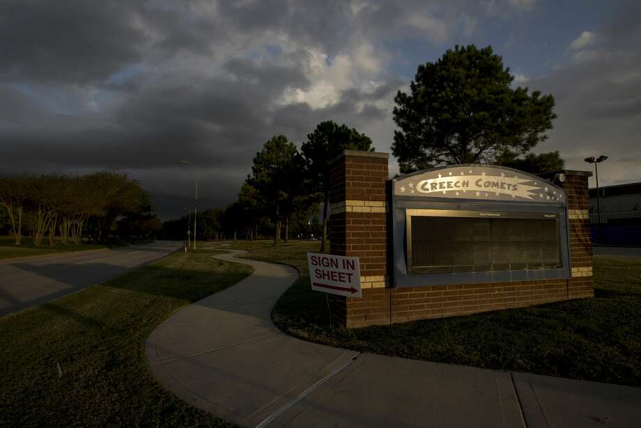 Sue Creech Elementary School, in Houston. Photo: Jon Shapley/Houston Chronicle