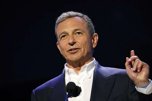 Bob Iger, chairman and chief executive officer of The Walt Disney Co., at the D23 Expo 2017 in Anaheim, California, on July 14, 2017. MUST CREDIT: Bloomberg photo by Patrick T. Fallon.