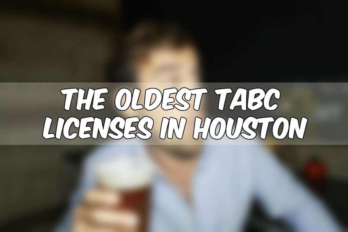 See when some Houston favorites got their first liquor licenses from the TABC in Austin...