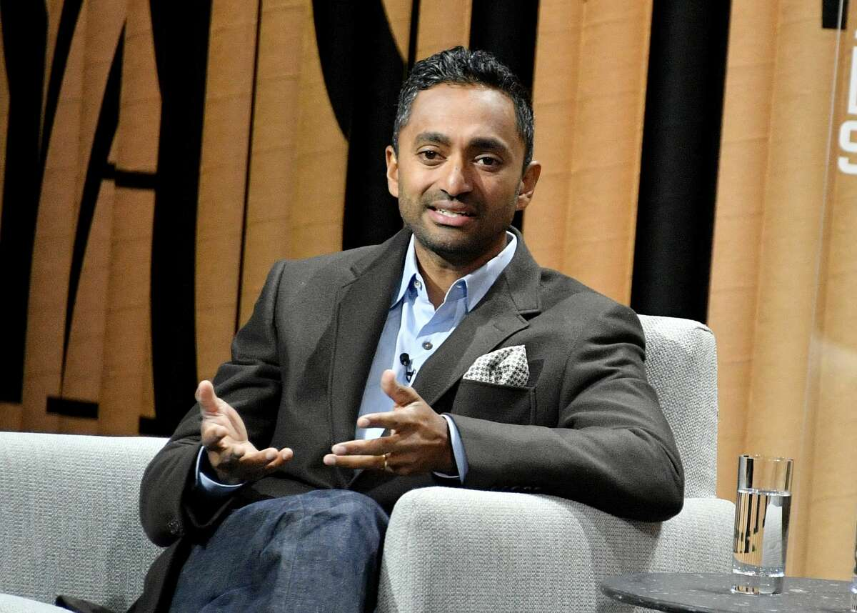 Chamath Palihapitiya, the founder and CEO of Social Capital, speaks onstage at the Vanity Fair New Establishment Summit at Yerba Buena Center for the Arts on Oct. 19, 2016 in San Francisco.