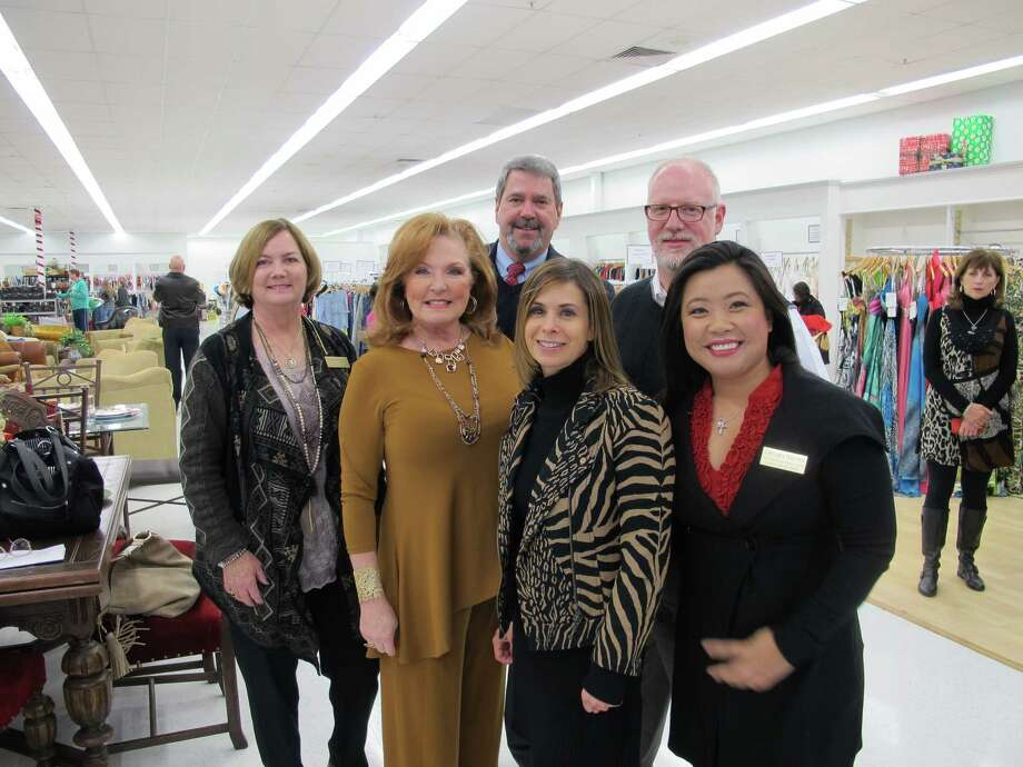 Fort Bend Women's Center's new PennyWise store in Katy is now open at 323 S. Mason Road. Among attendees at the Dec. 6 grand opening wereMelissa Blanscet, Joy Dowell, Juliet Breeze, Chelsea Nguyen, Bryan Sparks and Brucer Mercer. Photo: Inez Hutchinson (Jackson)/Fort Bend Women's Center