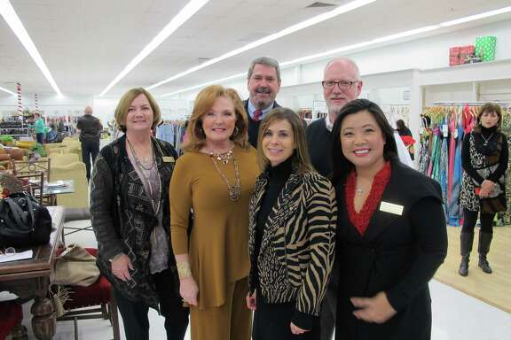 Fort Bend Women's Center's new PennyWise store in Katy is now open at 323 S. Mason Road. Among attendees at the Dec. 6 grand opening were Melissa Blanscet, Joy Dowell, Juliet Breeze, Chelsea Nguyen, Bryan Sparks and Brucer Mercer.