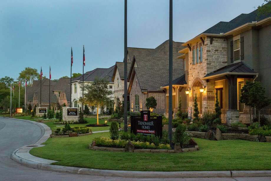 Johnson Development is the Houston area's most active developer, with 2,714 new homesites introduced from October 2016 through September 2017. Shown is a model home park in Sienna Plantation. Photo: Johnson Development