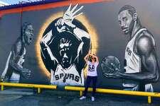 Franky Diablo's Kawhi Leonard Mural- 1301 Roosevelt Ave.   By Nik Soupe