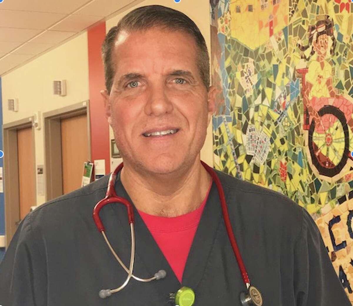 Kaiser nurse Tom Fowkes works in Oakland but lives in Monongahela, Pennsylvania.