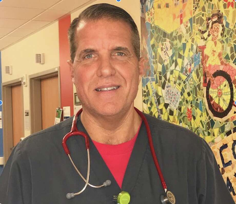 Kaiser nurse Tom Fowkes works in Oakland but lives in Monongahela, Pennsylvania. Photo: Courtesy
