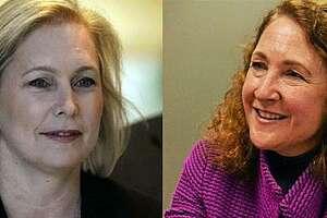 Sen. Kirsten Gillibrand and U.S. Rep. Elizabeth Esty.