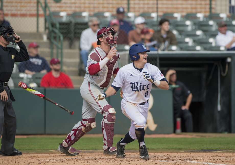 Rice Owls baseball infielder Ford Proctor. (Photo provided by Rice Athletics)