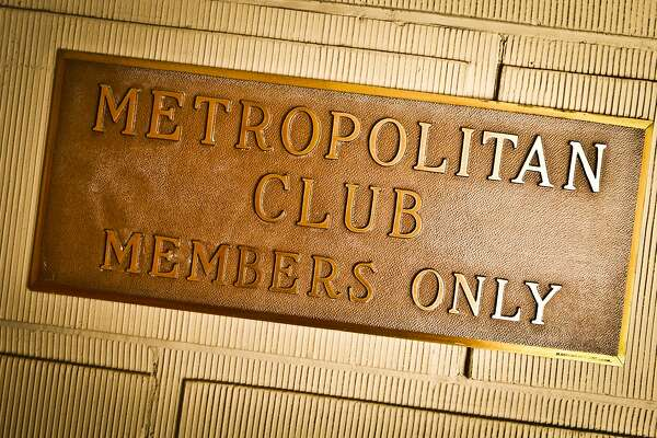 The sign of the Metropolitan Club is seen on Friday, Sep. 2, 2011 in San Francisco, Calif.
