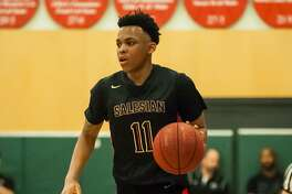 James Akinjo, a UConn commit, is the driving force for unbeaten -- and Chronicle No. 1 -- Salesian-Richmond.