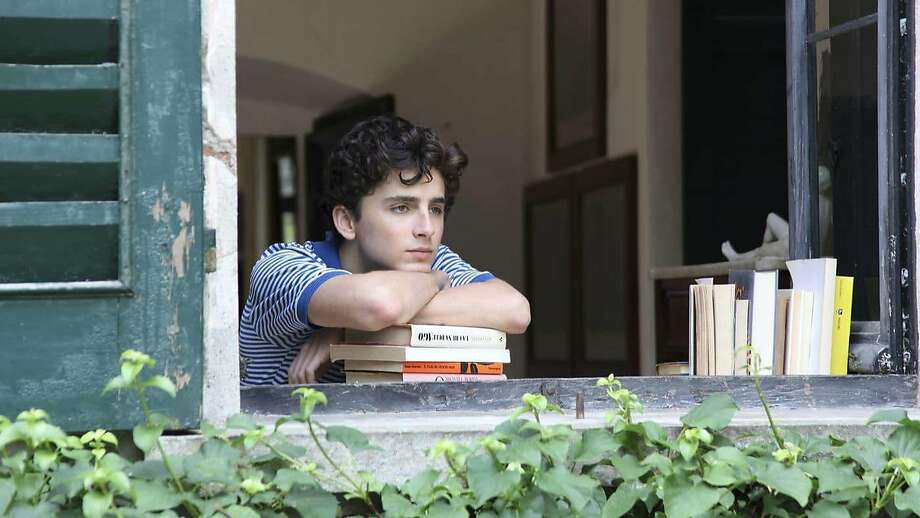 """Timothee Chalamet as Elio in the new movie """"Call Me by Your Name."""" (Sony Pictures Classics ) Photo: Sony Pictures Classics, TNS"""